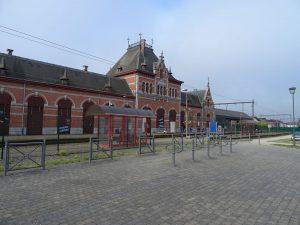 Gare et arrêt dans la commune de Péruwelz