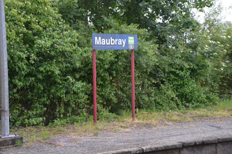 Arrêt de train de Maubray
