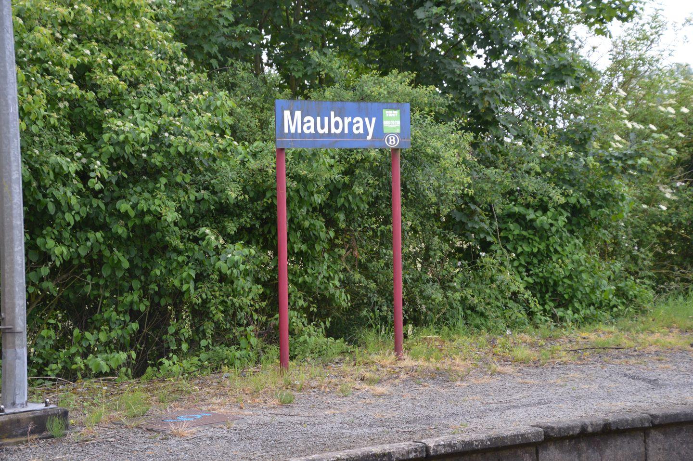 Arrêt de train de Maubray